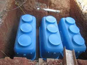 contoh pemasangan stp kotak  15.000 liter ( 15m3)